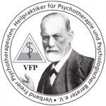 VFP-Logo –Verband Freier Psychotherapeuten, Heilpraktiker für Psychotherapie und Psychologischer Berater e.V.